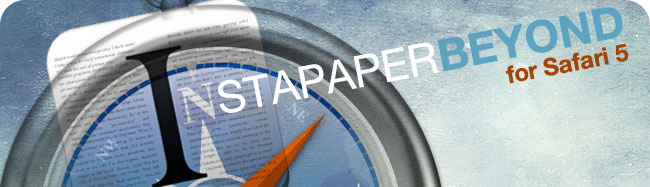 Instapaper Beyond for Safari 5 header image