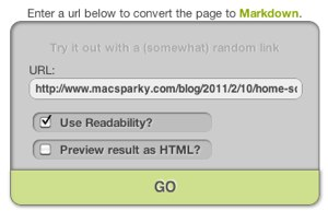 The Markdown Rules Markdownifier
