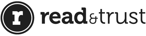 The read and trust logo